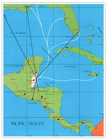 Belize Real Estate at Waterside - Location, Belize Map, Caribbean ...